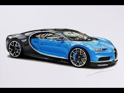 How To Draw A Lamborghini Centenario Step By Step Realistic Drawingpat Youtube Bugatti Chiron Bugatti Cool Car Drawings