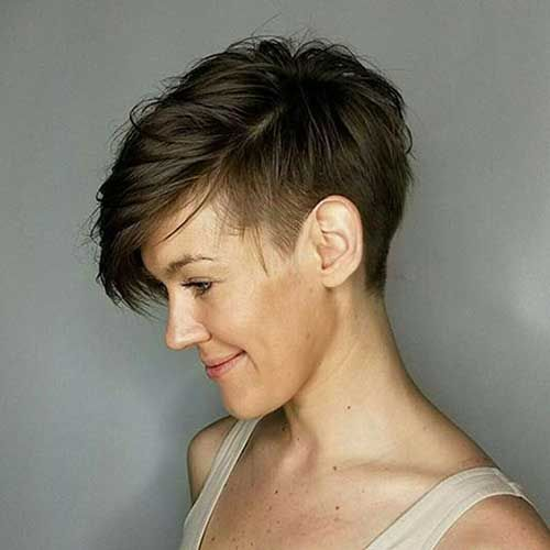 20 Pics Of Modern Short Hairstyles For Women In 2020 Pixie Hairstyles Thick Hair Styles Short Hair Styles