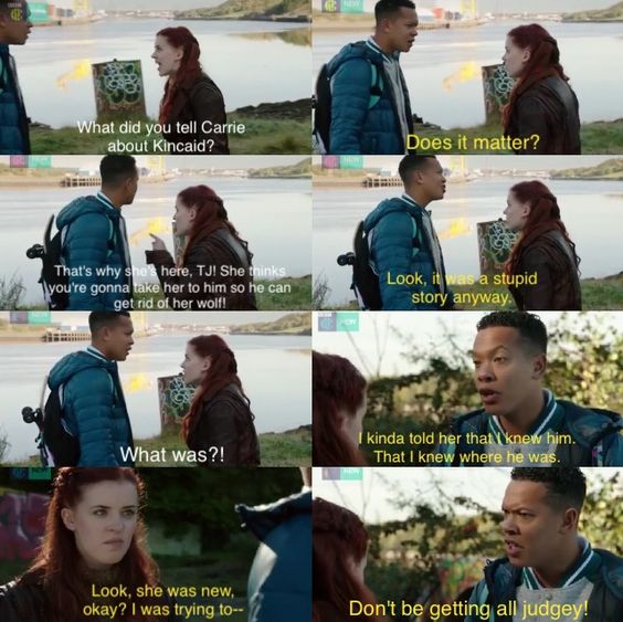 Jana & TJ | Wolfblood Season 4 Episode 4