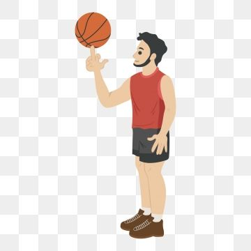 Basketball Play Basketball Basketball Player Athlete Clipart Basketball Cartoon Cartoon Basketball Png And Vector With Transparent Background For Free Downlo Cartoon Man Basketball Plays Basketball Players