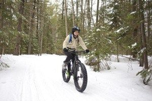 My first ride on a fat bike