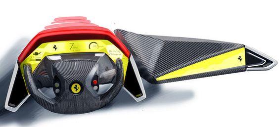 Ferrari World Design Contest 2011 by Marianna Merenmies, via Behance