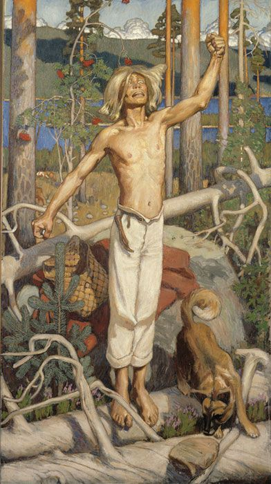 Kullervon kirous, 1889