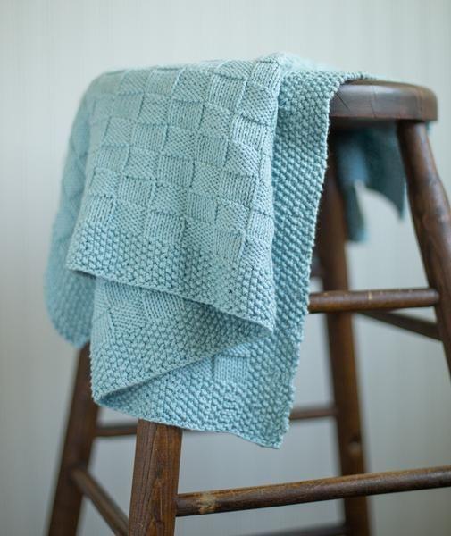 Block Stitch Baby Blanket Using Berroco Pima 100 Baby Blanket Knitting Pattern Knit Baby Blanket Pattern Free Easy Knit Baby Blanket