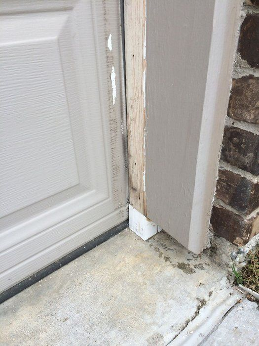 Rot And Rodent Proof Garage Door Seal With Pvc And Weatherstripping Door Seals Garage Doors Garage Walls