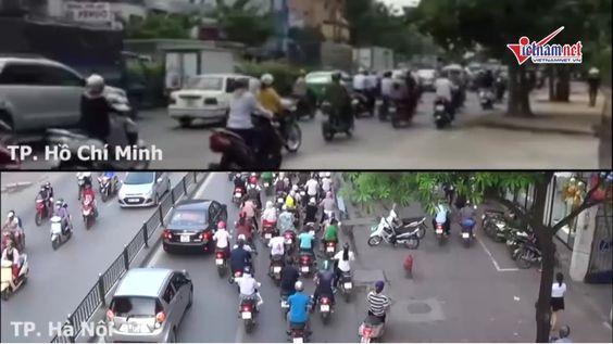 Giao thông Hà Nội ám ảnh ùn tắc còn ở Thành phố Hồ Chí Minh thế nào?