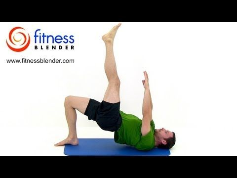 Pilates for Lean Legs & Toned Core - 33 Minute Pilates Workout Video by FitnessBlender.com