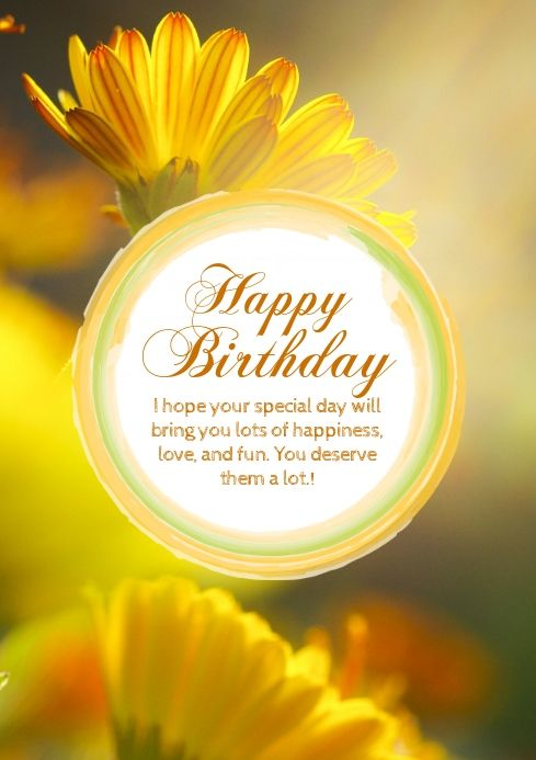 Create The Perfect Design By Customizing Easy To Use Templates In Minu Happy Birthday Wishes For Her Happy Birthday Wishes For A Friend Birthday Wishes For Her