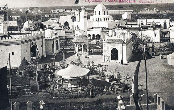 """Laurent ANTOINE """"LeMog"""" - World Expo Consultant: Exposition de 1915 à Casablanca, Maroc..."""