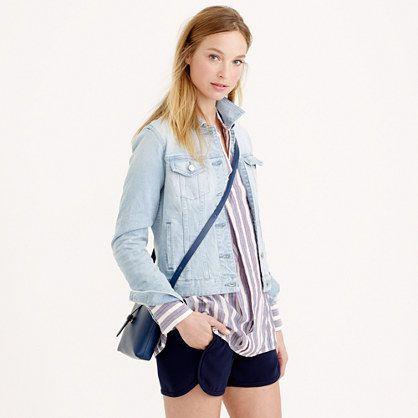 Pale Denim Jacket - Pl Jackets