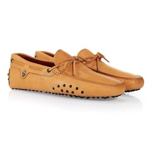 Tod's for Ferrari - Gommino Laced Loafers #ferrari #ferraristore #tods #madeinitaly #classy #fashion #shoes #driving #gommino #loafer #grandprix #detail #cavallinorampante #prancinghorse #ss2014 #Springsummer2014 #race