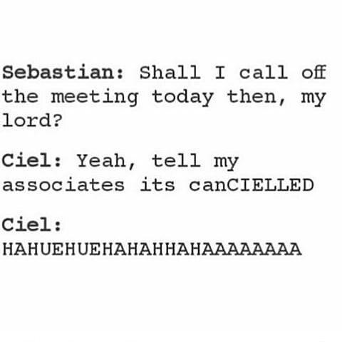 Oh my Lord #ciel #Sebastian #cielphantomhive #sebastianmichaelis #grell #anime #otaku #weeaboo #blackbutler