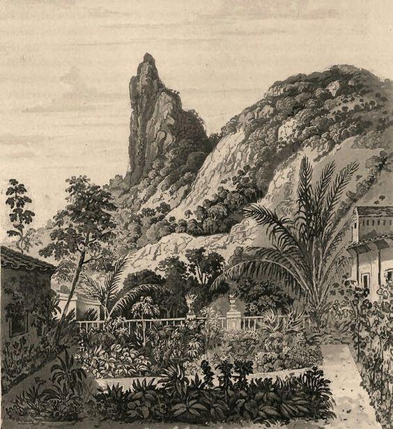 Morro do Corcovado, sem o Cristo Redentor -Rio de Janeiro - Brasil