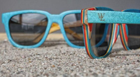 Sonnenbrillen - Handgefertigte Sonnenbrille aus Holz Wood Lovers - ein Designerstück von woodlovershandmade bei DaWanda