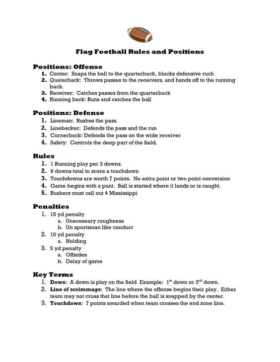 "Ha, if we actually played by these rules, we'd have so many ""unnessisary ruffness"" calls they'd be penalized 50 yards behind the endzone! LOL"
