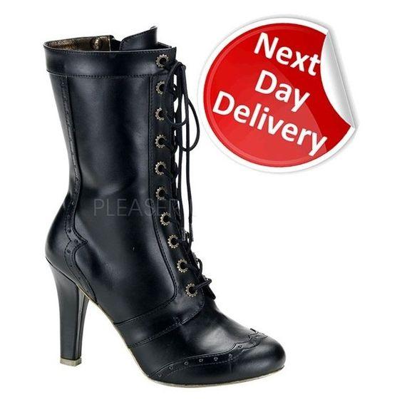 Demonia Steampunk Women's Footwear from Demonia.co.uk ($115)