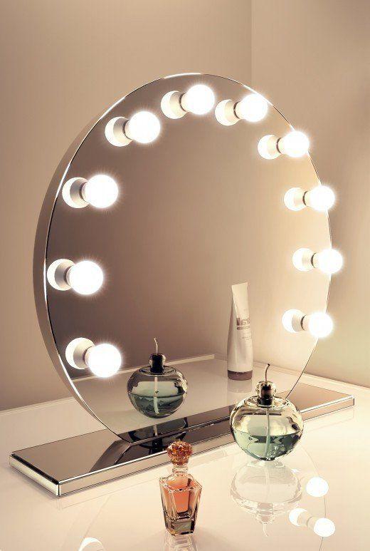 Hollywood Vanity Mirror Rectangle Hollywood Vanity Mirror