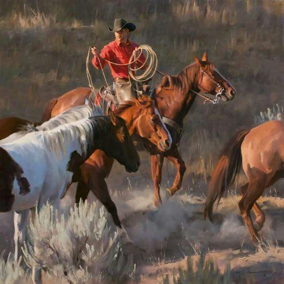 Tom Browning, Cowboyin.: