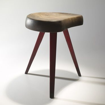 251: Charlotte Prouvé / stool no. 308 < Important Design, 18 May 2008 < Auctions | Wright