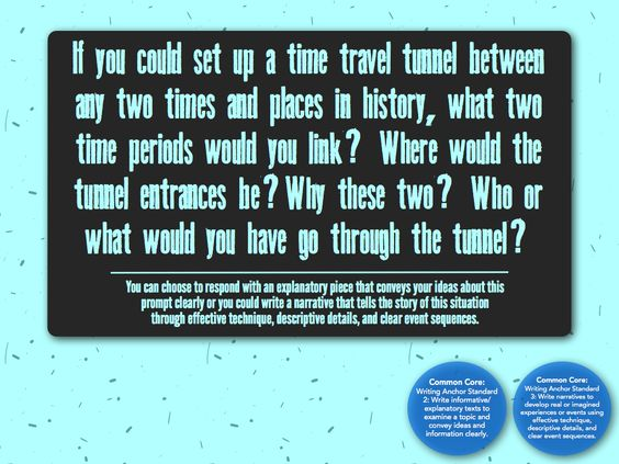 Is time travel possible essay prompts