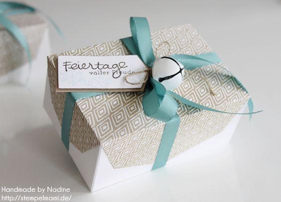 Box Stampin Up Umschlag fuer Geschenkkarte und Zierelemente Goodie Schachtel Verpackung Give Away Gift Idea Thinlits Formen Umschlag fuer Geschenkkarte und Zierelemente Envelope Box 012