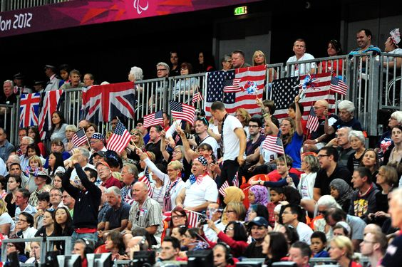The crowd was as loud and exciting as the sport itself --- London Paralympic Games