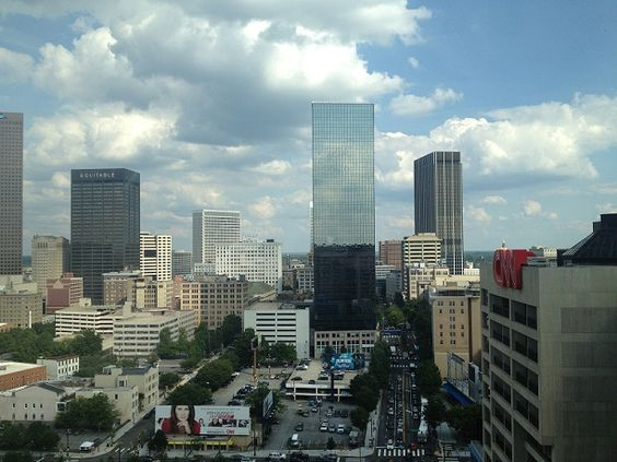 This is the awesome view from my room at the Omni Hotel. Kicking off the Don't be a Wussy 2012 Empower Network event,