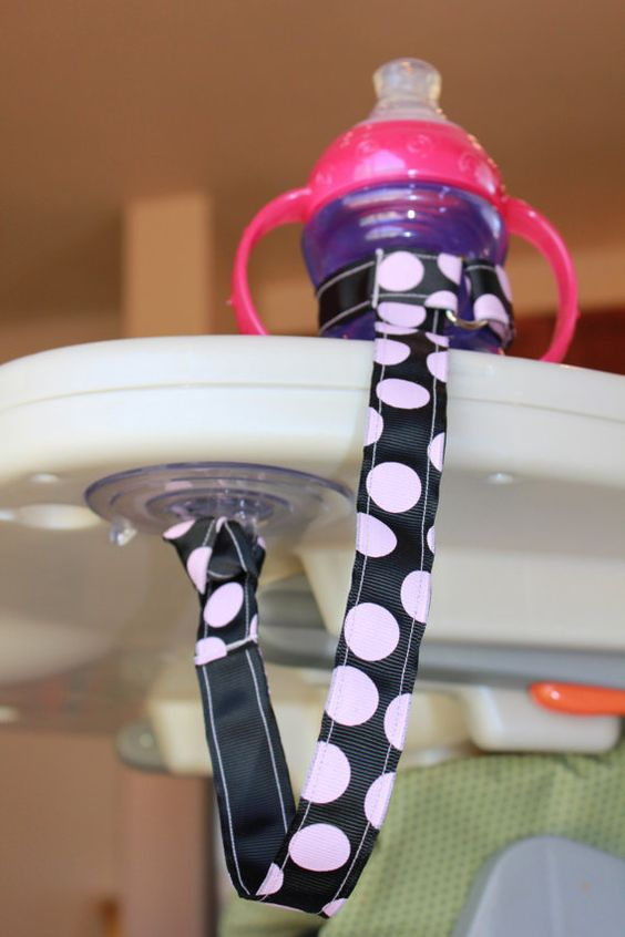 Suction sippy strap, I can imagine all moms needing this at one point or another.