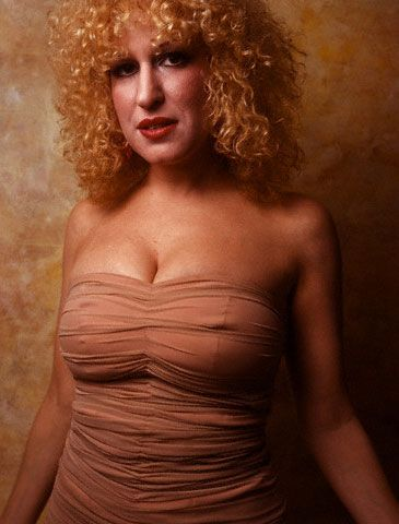 Bette Midler...would love to see her show in Vegas