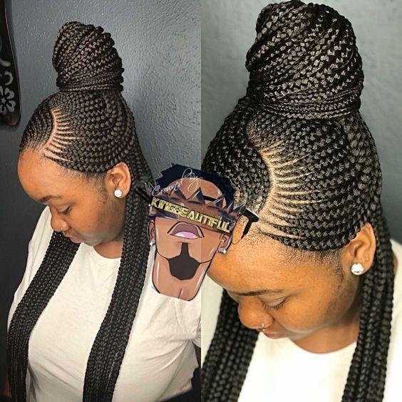 Cornrows Braided Hairstyles 2019 25 Magnificent Women