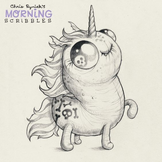 Scribble Monster Drawing : Scribble mornings and posts on pinterest