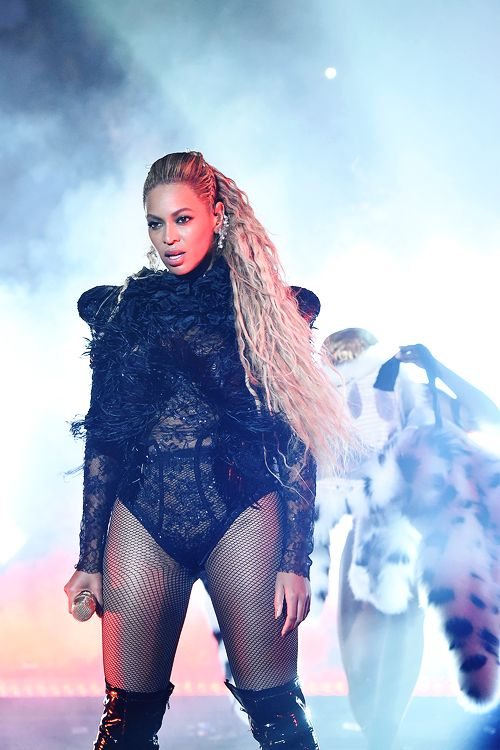 Beyoncé performs onstage during the 2016 MTV Video Music Awards at Madison Square Garden on August 28, 2016 in New York City.
