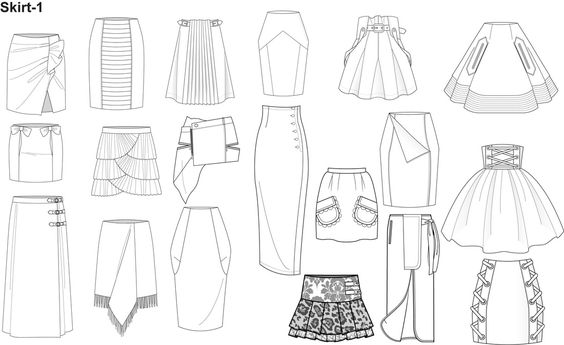 1000 ideas about fashion illustration template on for Clothing templates for illustrator