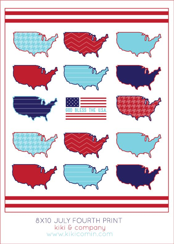 free 4th of july print at kiki and company #fourthofjuly