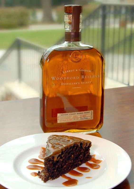 Woodford Reserve Kentucky Bourbon Chocolate Cake