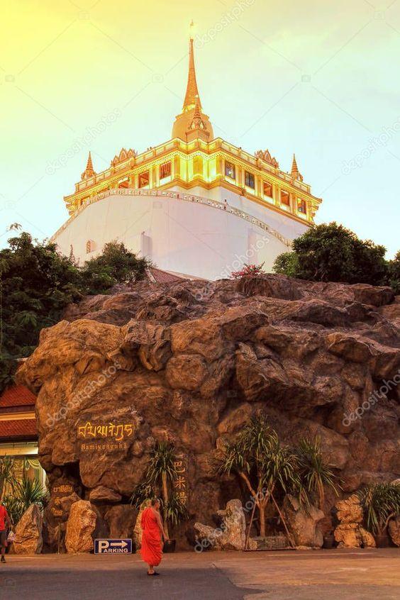 [Chia sẻ] Du lịch Wat Saket, Bangkok, Thái Lan