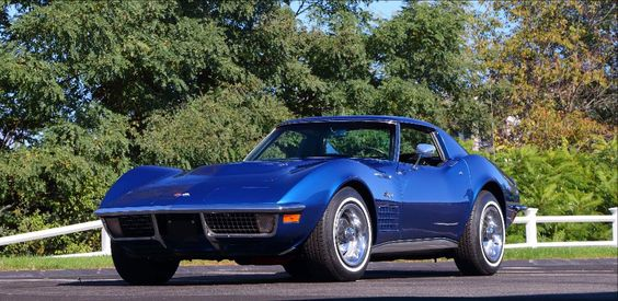 1971 CHEVROLET CORVETTE LS6 COUPE, 1 of 188 Produced, Top Flight, Tank Sticker. LOT S245, Mecum Auction JAN 6-15, 2017 Kissimmee, FL.