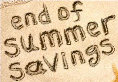 Super savings Savings SAVINGS!!