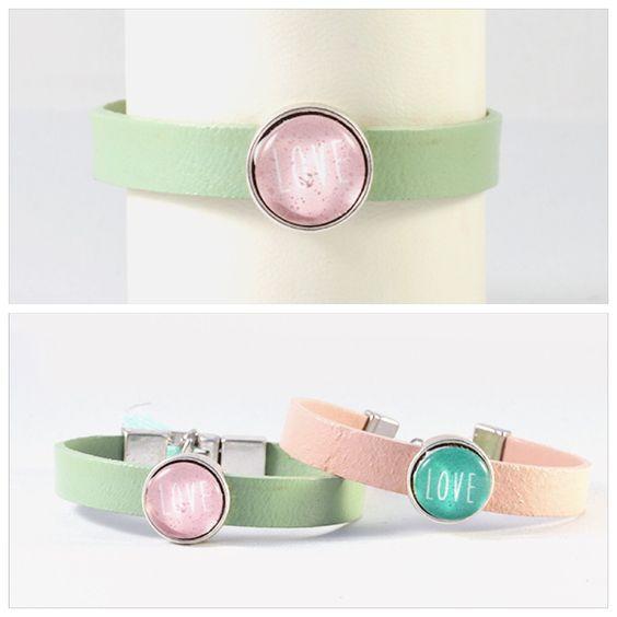 Gepersonaliseerde armbanden koop je nu ook bij Dolceza. Bekijk ze snel op wee.dolceza.nl