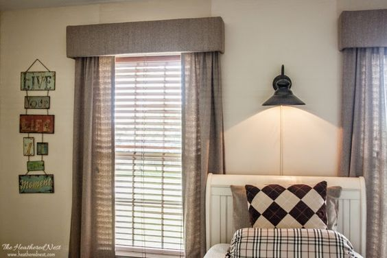 Pinterest the world s catalog of ideas for Simple window treatments for large windows