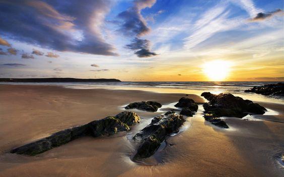 Woolacombe Sands UK