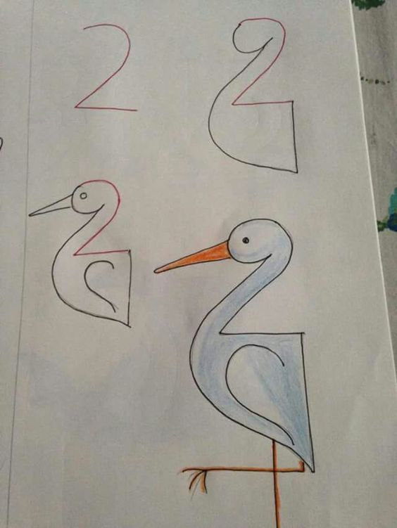 Dibujos con numeros