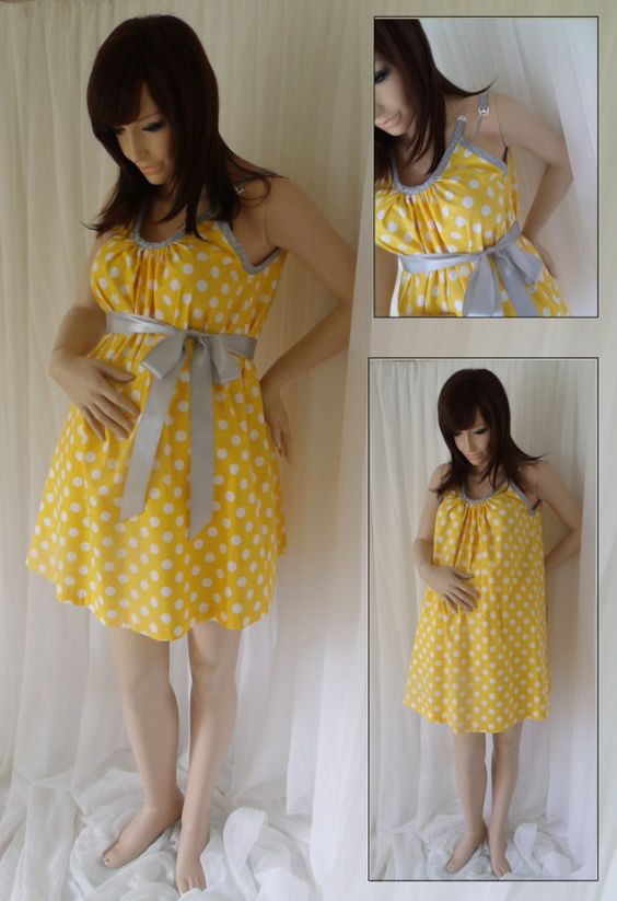 Got mine ordered! @Maeghan Smith you should look into these! Yellow Maternity Hospital Gown delivery nursing by MilkThreads, $54.00