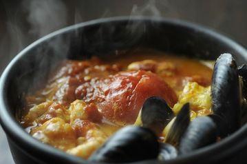 hot pot with an Italian flavor