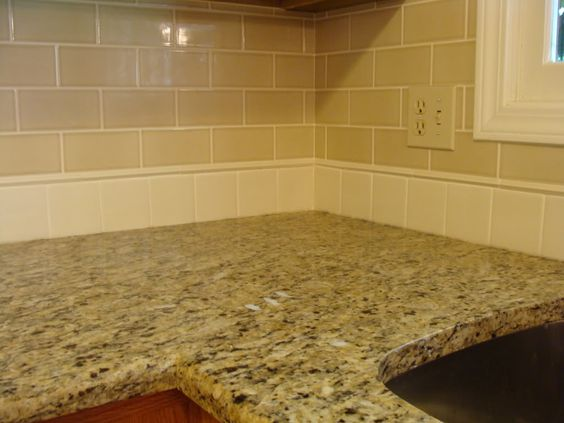 backsplash and granite combinations google search living areas