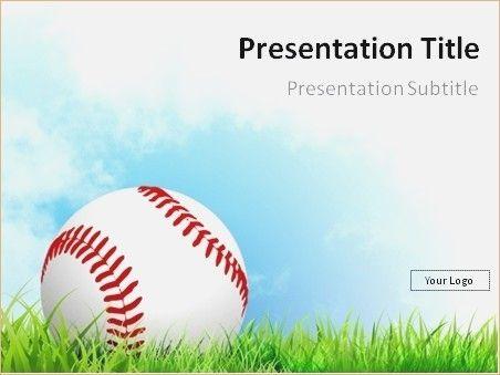 Baseball Powerpoint Template Free Free Baseball Powerpoint