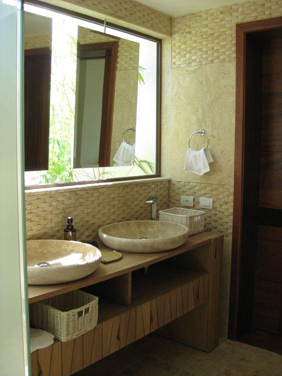 Mueble de lavamanos espejos y diseno que ofrece mucha luz - Lavamanos de diseno ...