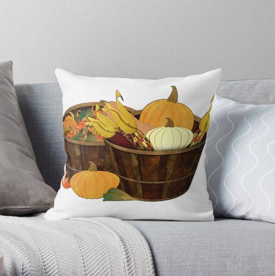 """The Splendor of Autumn"" Throw Pillow by ButterflysAttic   Redbubble"