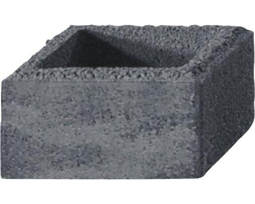 Pfeilerstein Ibrixx System Quarzit 37 5x37 5x20cm Bei Hornbach Kaufen Steine Mauersysteme Horner