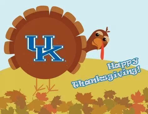 Thankful for my UK Wildcats!!!